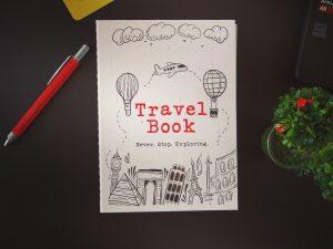 """Планер за пътуване """"TRAVEL BOOK"""""""