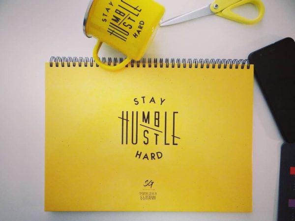 "Работен планер ""STAY HUMBLE/HUSTLE HARD"""